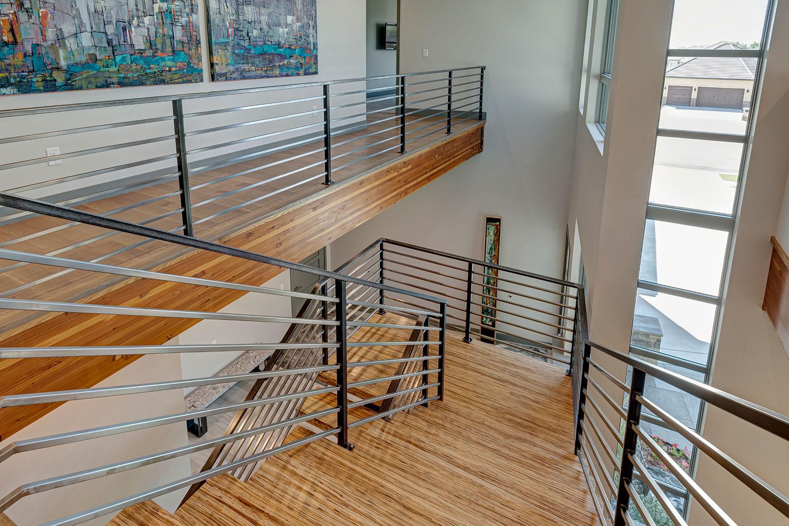 Avada Modern Custom Floating Staircase
