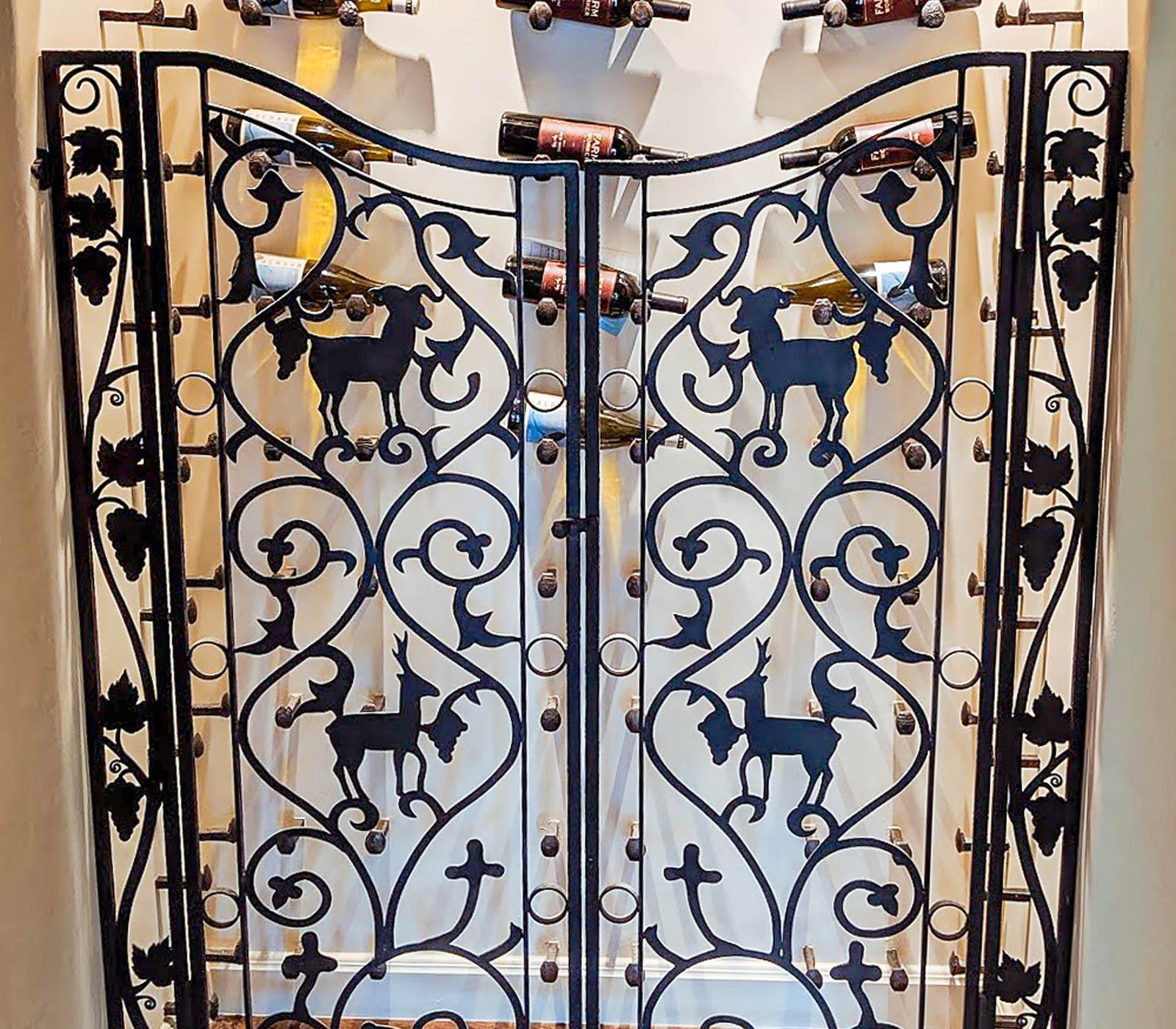 Rancho Tranquilo Wine Gate