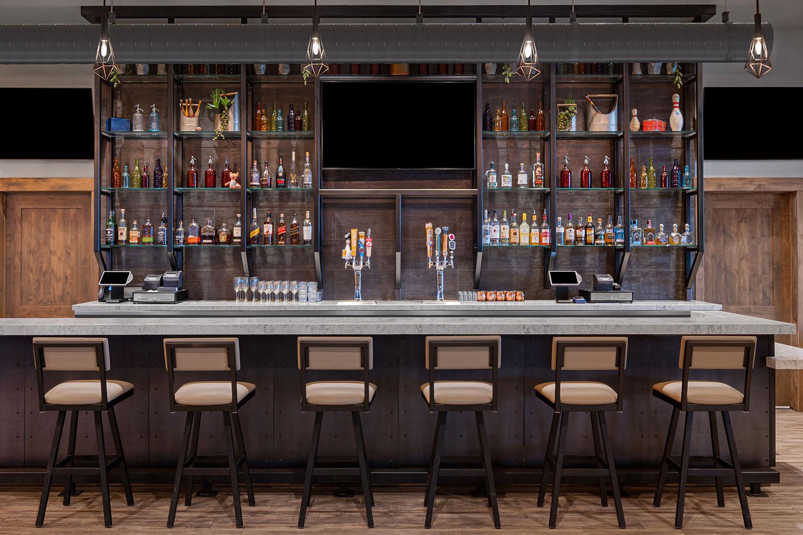 River Run Custom Built Bar