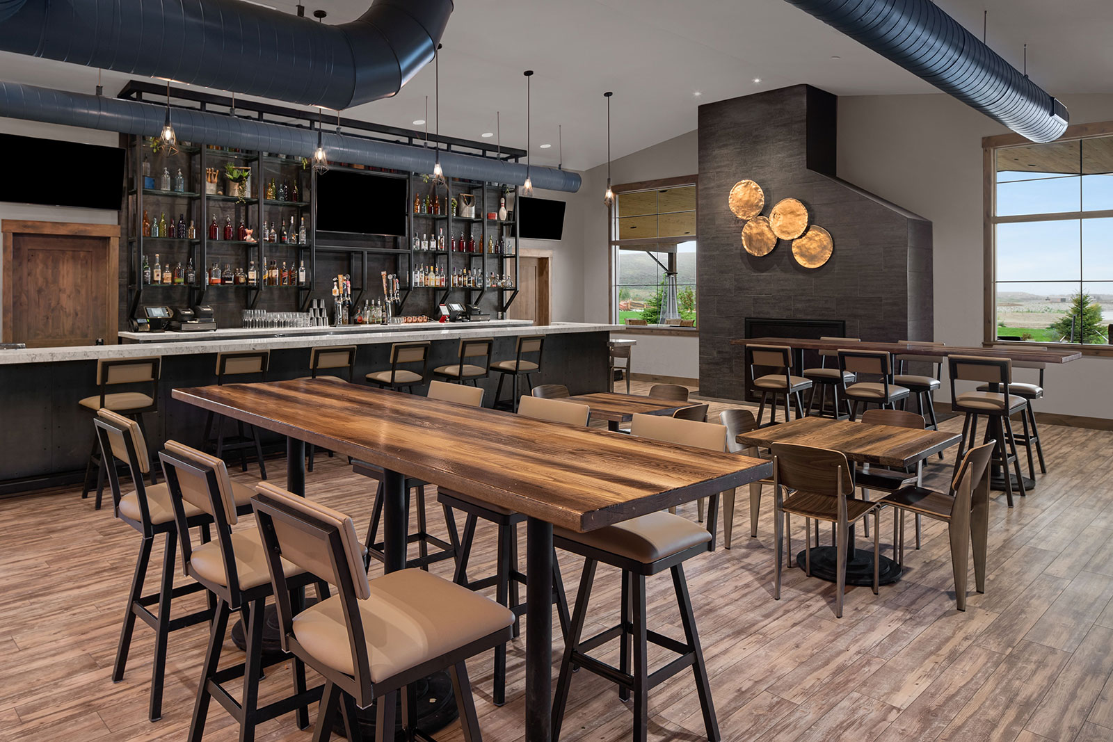 River Run Custom Built Bar in Granby Colorado