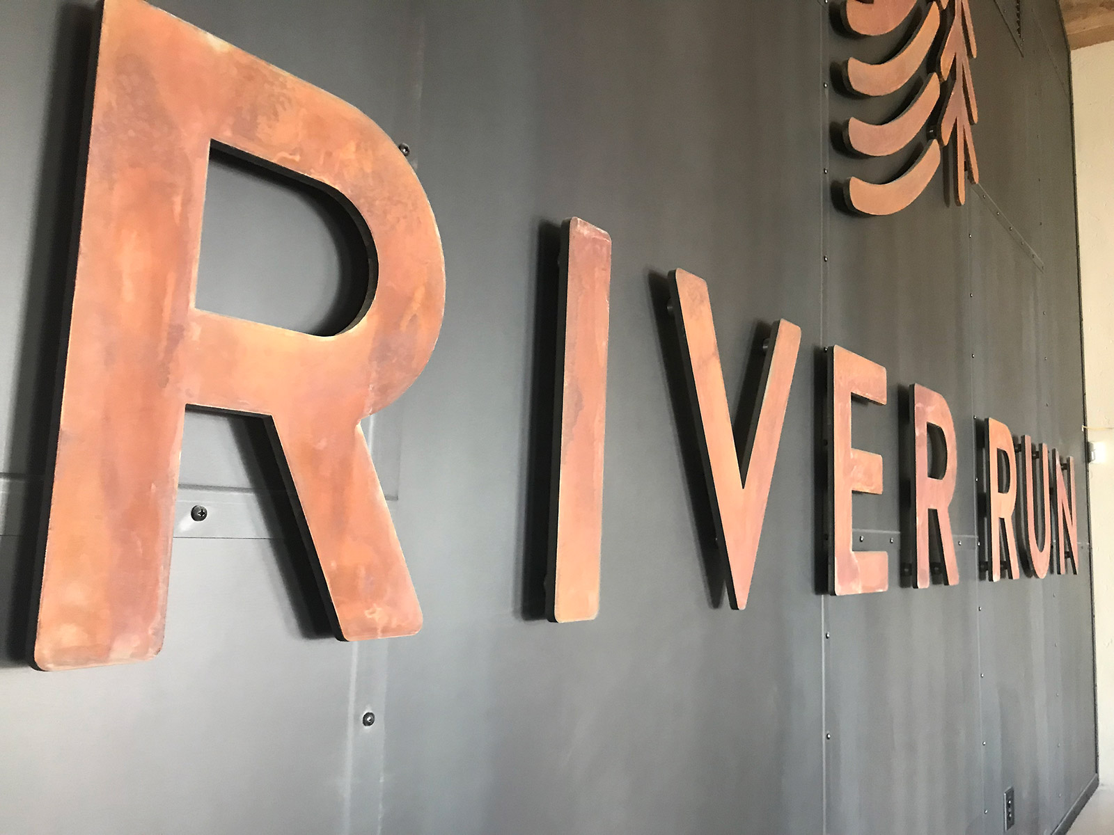 River Run Welcome Center Custom Signage and Counters