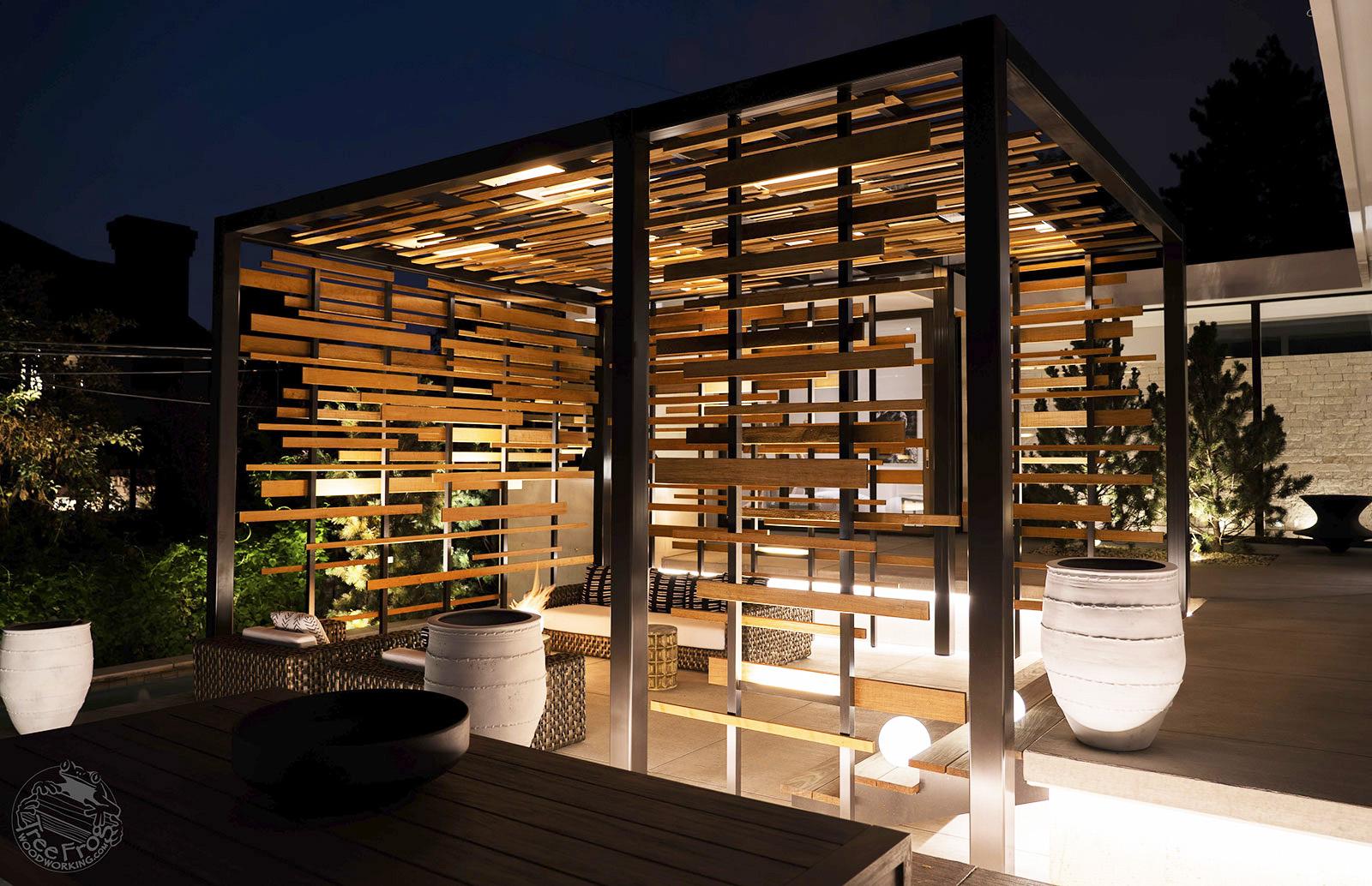Modern Custom Tea House Pergola
