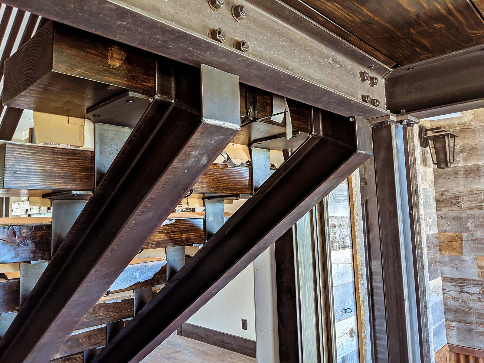 Winter Park Custom Floating Stairs