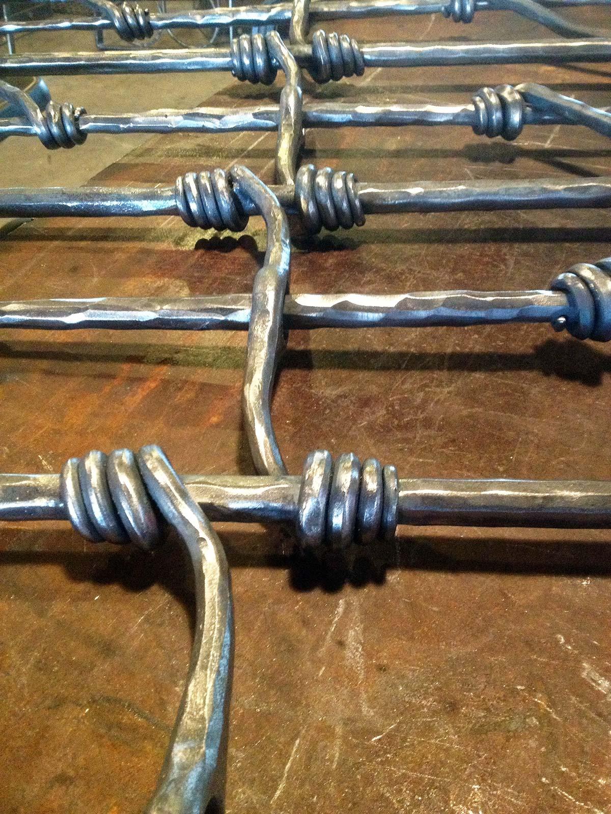 Custom Forged Infill Railing