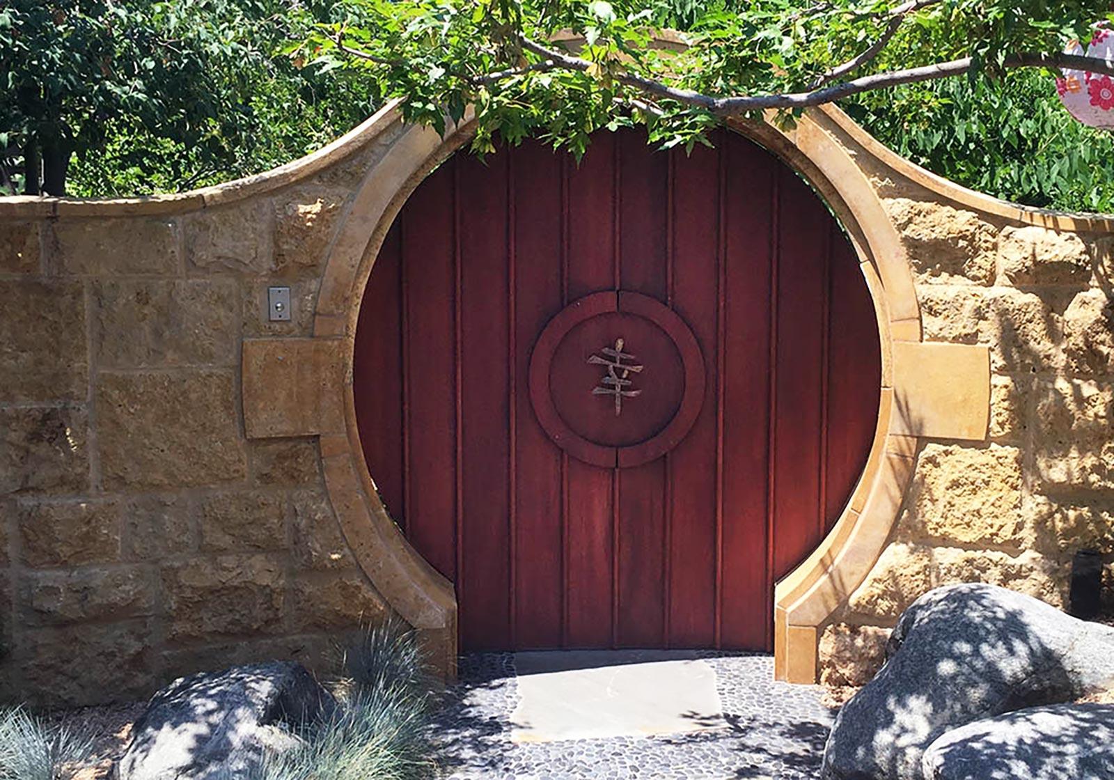 Cherry Hills Moon Gate