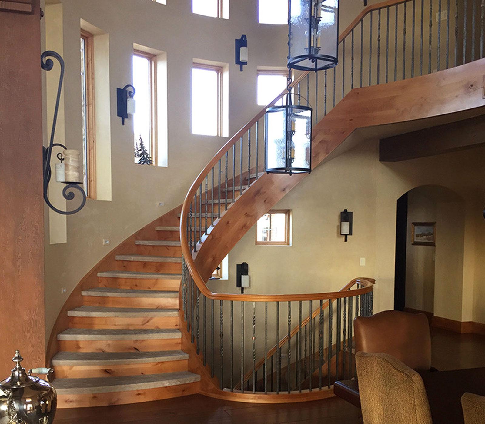 Windsor Interior Stair Rail